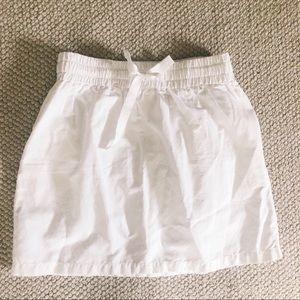 Jcrew sidewalk tie skirt